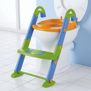Potty steps allows your child to use the family toilet while still feeling confident.